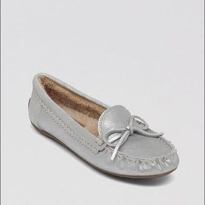 Lucky Brand Faux Fur Lined Driving Moccasins
